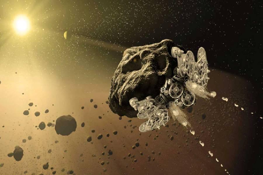 هیچ نیازی به پرتاب بخش های یک فضاپیما از زمین نیست، تنها یک ربات، یک سیارک را به فضاپیما تبدیل خواهد کرد
