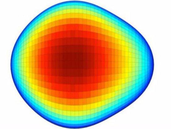 تصویری از هسته اتم گلابی شکل تازه کشف شده