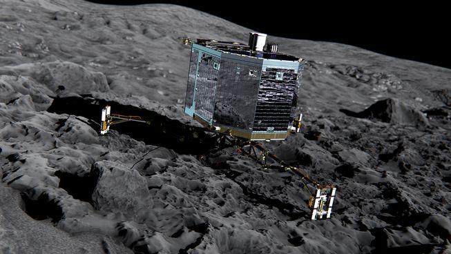 کاوشگر روباتیک فیله اولین فضاپیمایی است که بر سطح یک دنباله دار فرود آمده است.