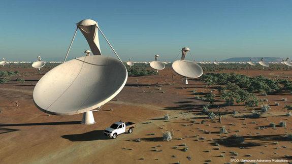 آرایه ی تلسکوپی های رادیویی