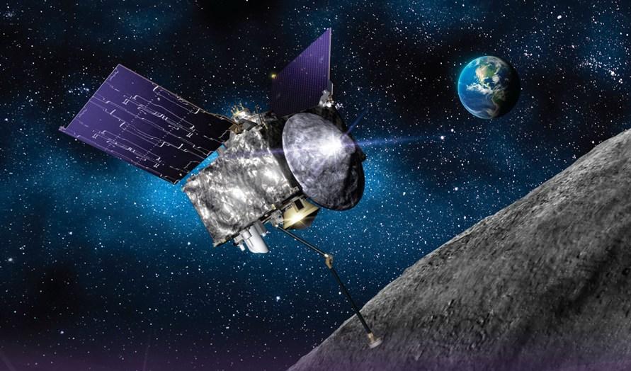 تصویری هنری از ملاقات این کاوشگر فضایی و سیارک مورد نظر