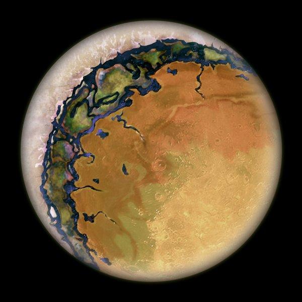 سیاره قابل سکونت پروکسیما b چه ویژگی های ظاهری میتواند داشته باشد؟ احتمال سکونت میان بخش های شب و روز آن دور از انتظار نخواهد بود.