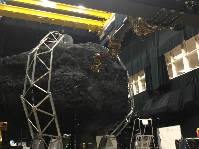 تست ماموریت تغییر مسیر سیارک در مقیاس واقعی- مرکز پرواز فضایی گودارد ناسا در گرین بلت مریلند