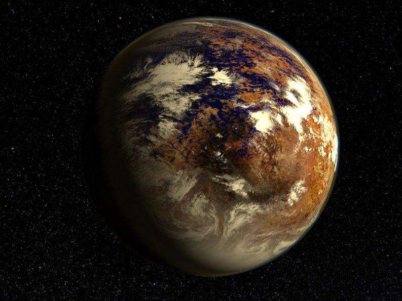 تصویری هنری از سیاره ی فرا خورشیدی پروکسیما b