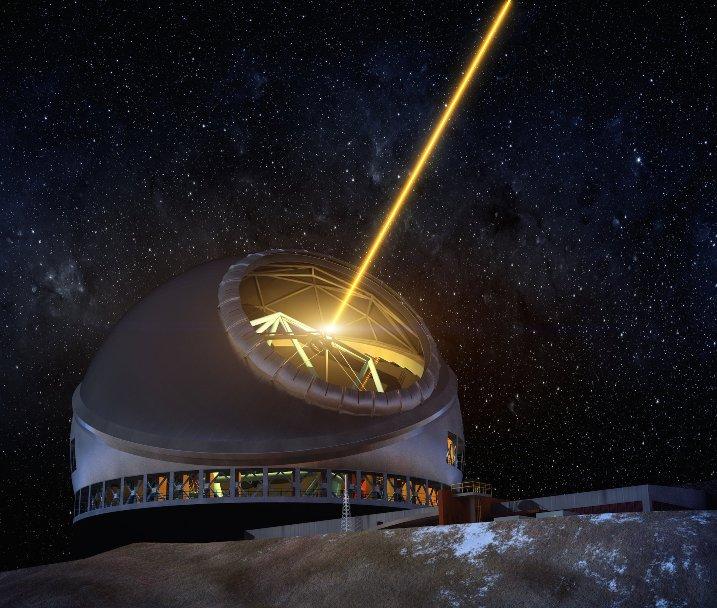 لیزر تلسکوپ سی متری در تهیه عکس های فضایی به رصدخانه کمک خواهد کرد.