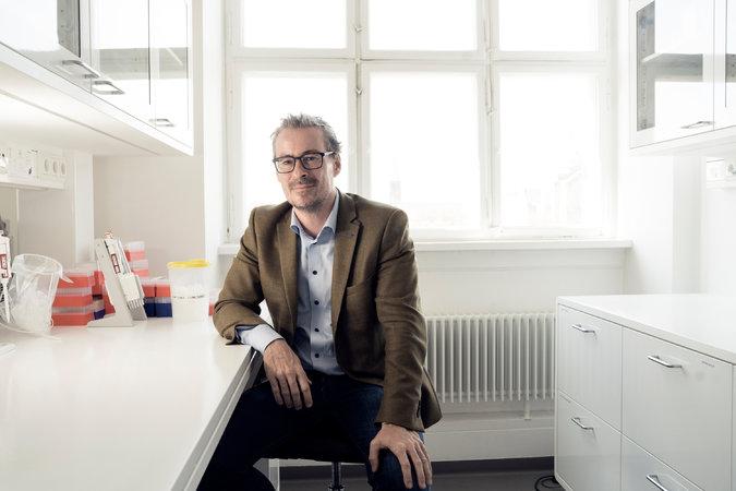 دکتر اسکه ویلرسلو متخصص ژنتیک در دانشگاه کپنهاگ