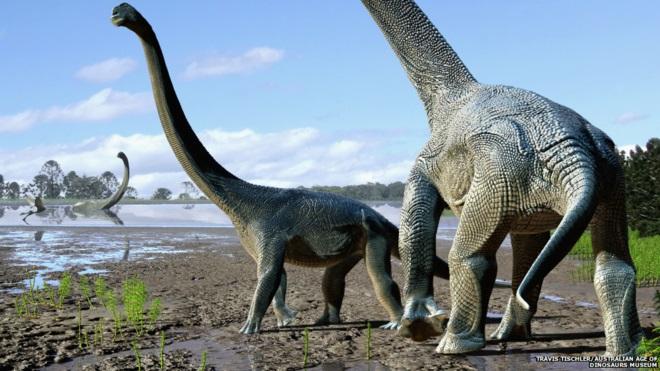 دایناسورهای غولپیکر از قاره ها عبور کردند!