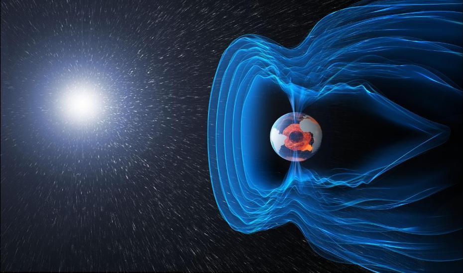 میدان مغناطیسی و جریان های الکتریکی درون و پیرامون زمین نیروهای پیچیده ای را که تاثیر بی نهایت مهمی در زندگی هر روزه ما دارند، به وجود می آورند. این میدان به شکل یک حباب بزرگ تصور می شود که از ما در برابر تابش کیهانی و ذرات بارداری که در بادهای خورشیدی وجود دارد و زمین را بمباران می کنند محافظت می کند.