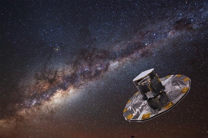اندازه ی گیری ستارگان کهکشان ما توسط ماهواره ی گایا