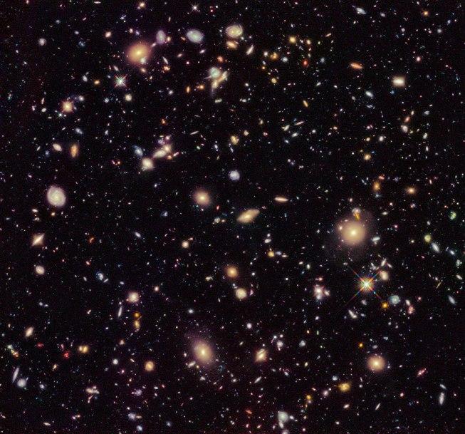 پدیده سرخ گرایی نور کهکشان ها. عکس از رصد خانه جنوبی اروپا