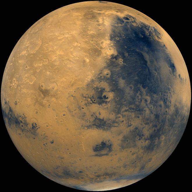 عکسی از سیاره ی مریخ در حال حاضر