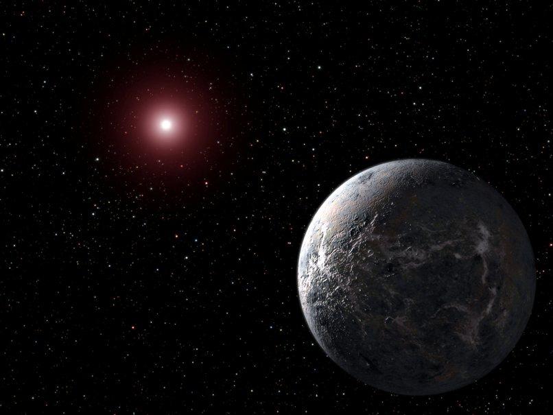 سیاره فراخورشید از دید یک هنرمند