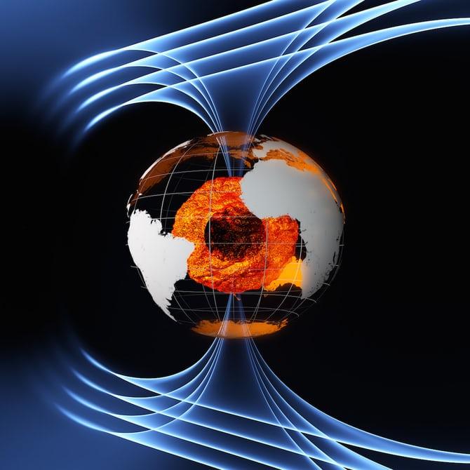 محققان دریافتند که این جریان تند فواره ای به احتمال زیاد مرزی میان دو بخش متفاوت هسته باز می کند. آهن مایع از هر دوی این بخش ها به سمت این مرز رانده می شود. سپس، با سرعت به سمت بیرون هدایت می شود.