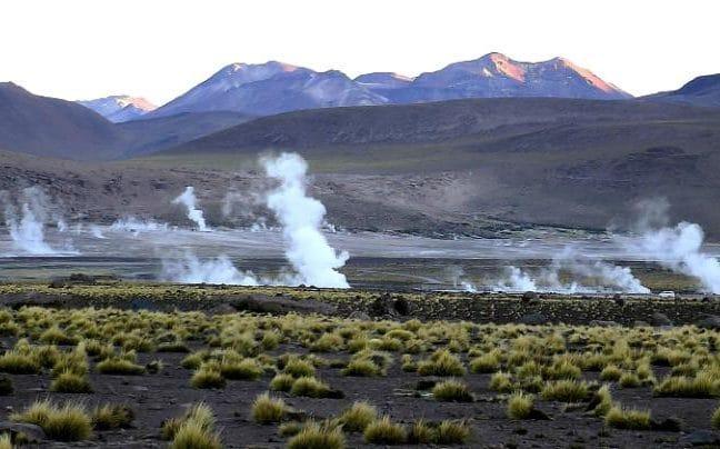 ناحیه ال تایو در شیلی که شباهت فراوانی با مریخ قدیمی دارد.