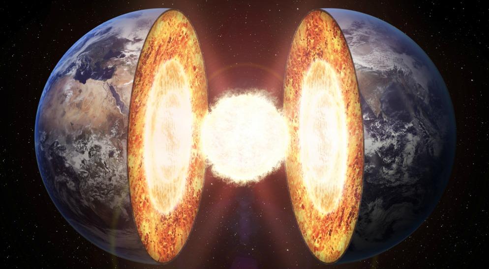 در میان عناصر مختلف آهن بیش از بقیه در هسته زمین یافت میشود