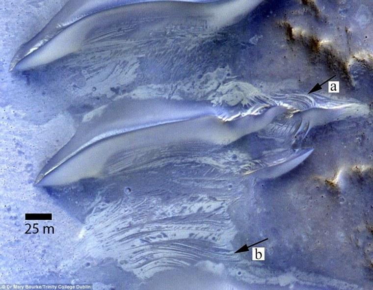 مریخ در گذشتهای نزدیک آب داشته است