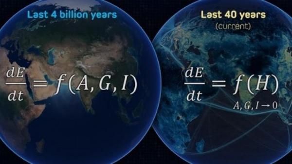 تاثیرات انسانی بر زمین ۱۷۰ برابر ِ نیروهای طبیعی است!