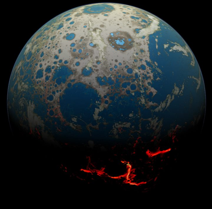 image e Early Earth