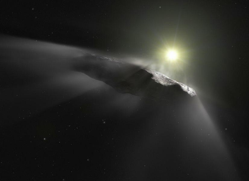 image e Oumuamua