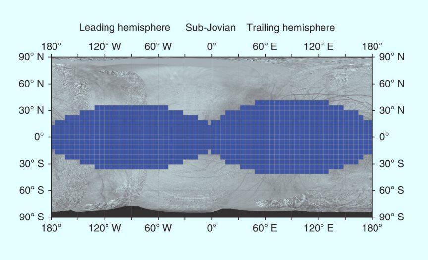 image e Europa Radiation Map