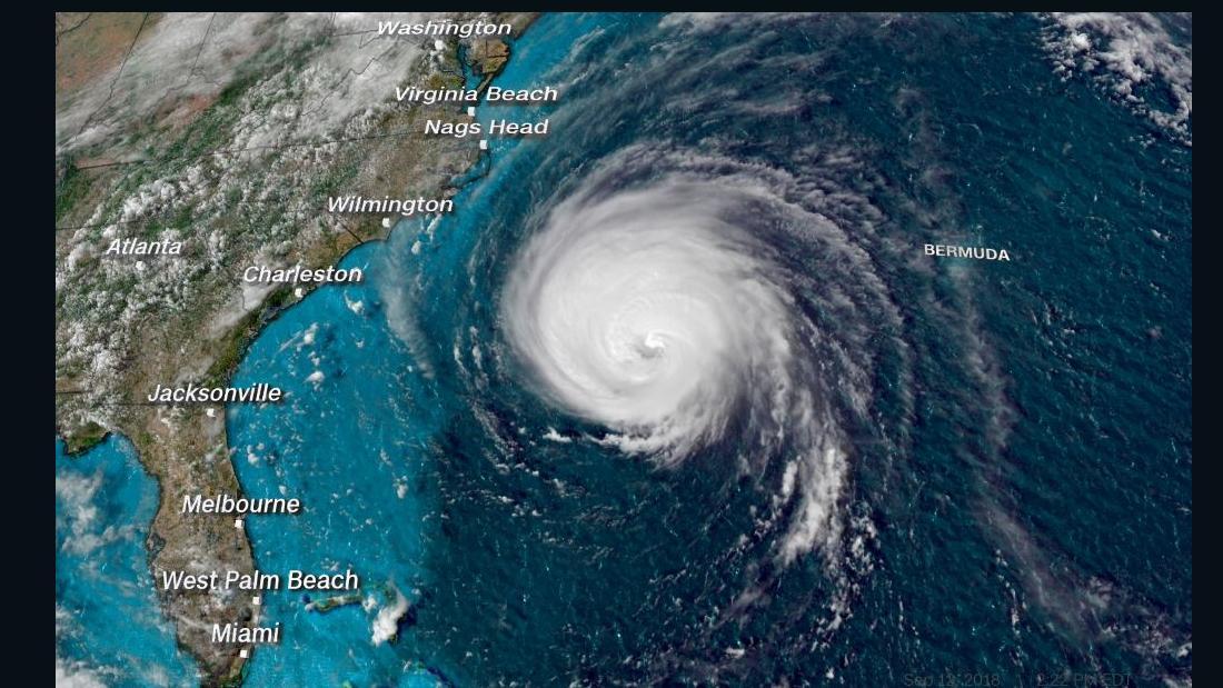 hurricane florence satellite p m et super tease