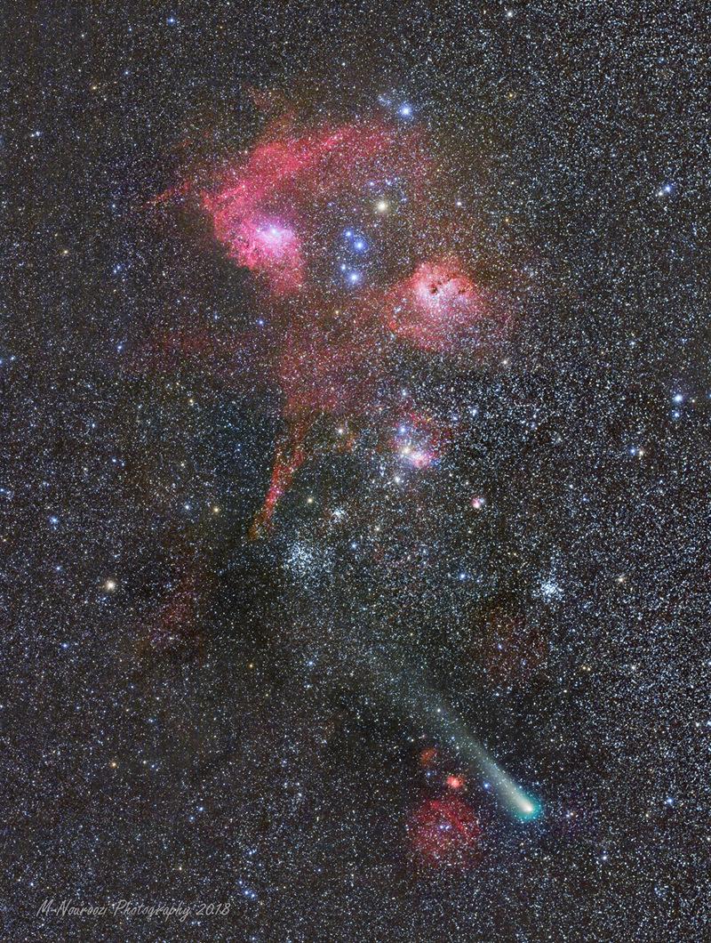 Comet p Giacobini Zinner