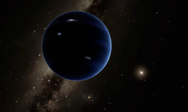 Planet Nine Possibly