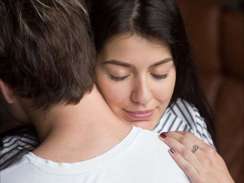 couple man Woman Hugging large bigstock x