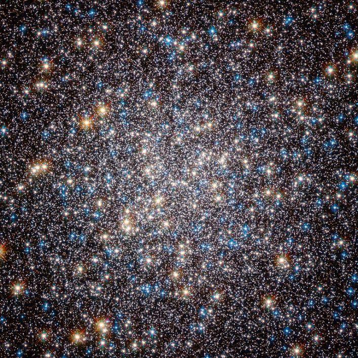 px Heart of M Hercules Globular Cluster