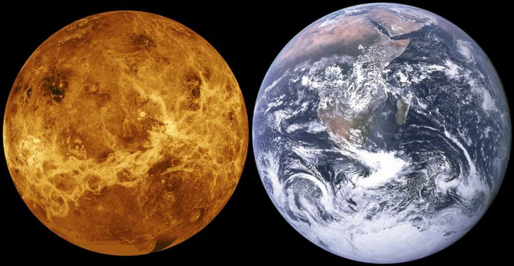 Venus was once an Earth twin