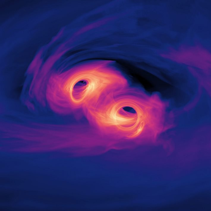 image e Merging Supermassive Black Holes