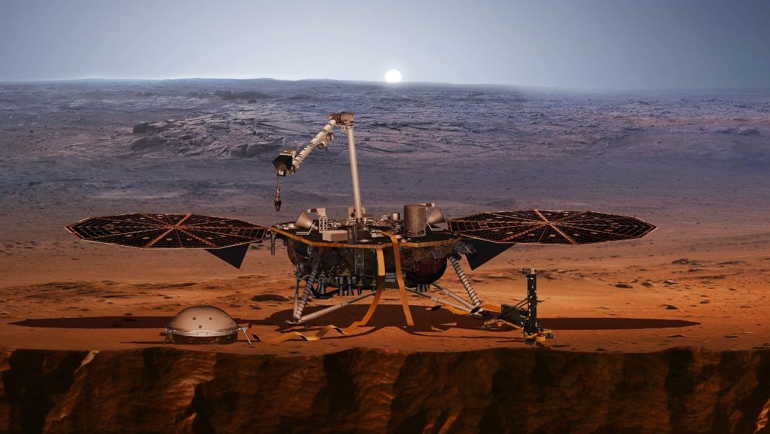 nasa mars insight landing