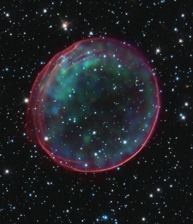 Supernova SNR B .