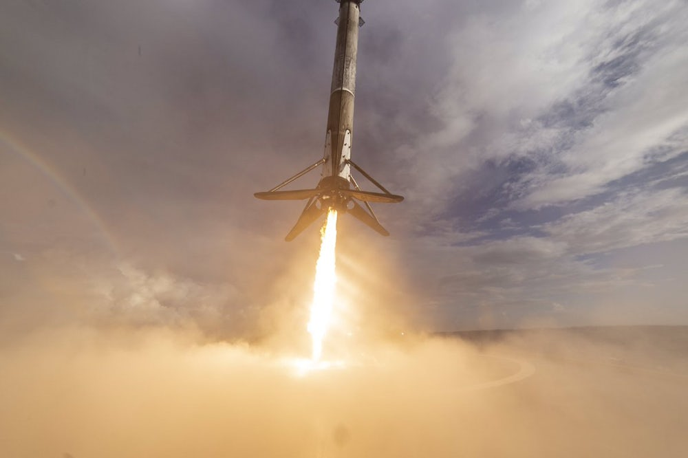 spacex third time