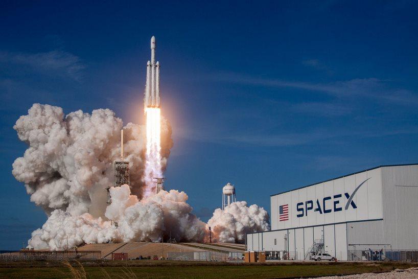Falcon Heavy Rocket