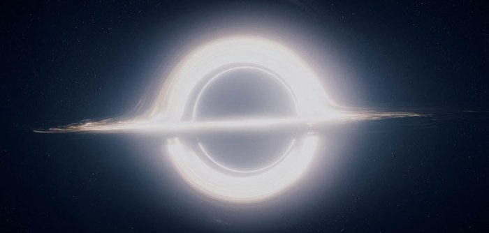 gargantua interstellar black hole