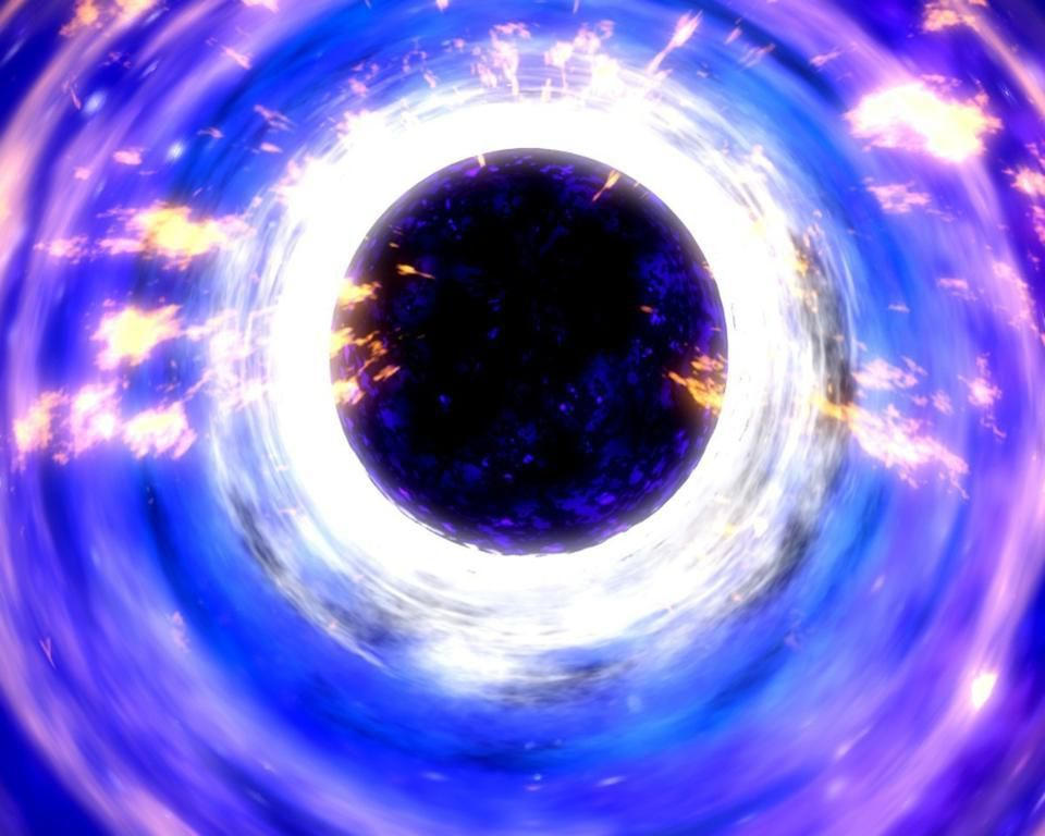 https blogs images.forbes.com startswithabang files Illustration of a black hole and its surrounding disk x x x