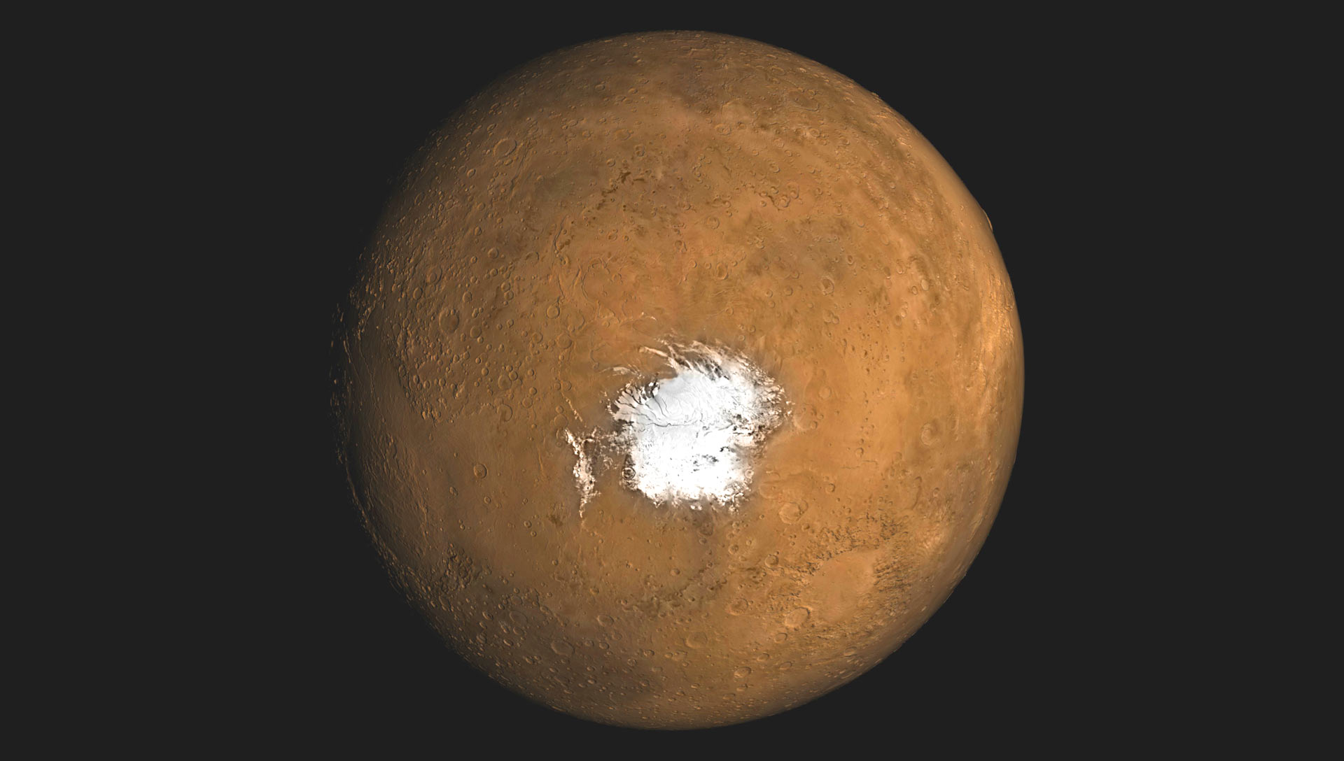 image e Mars Ice Cap