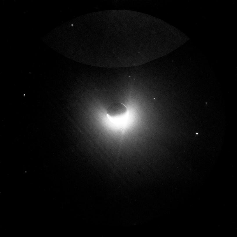 Earthus geocorona from the Moon