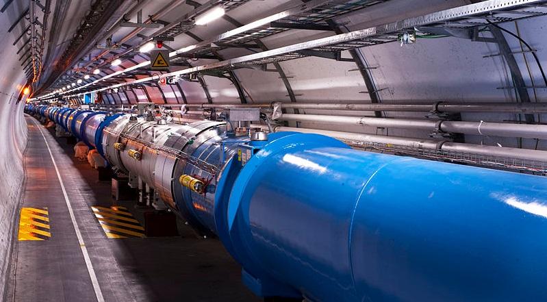 LHC tunnel sector crop tirage