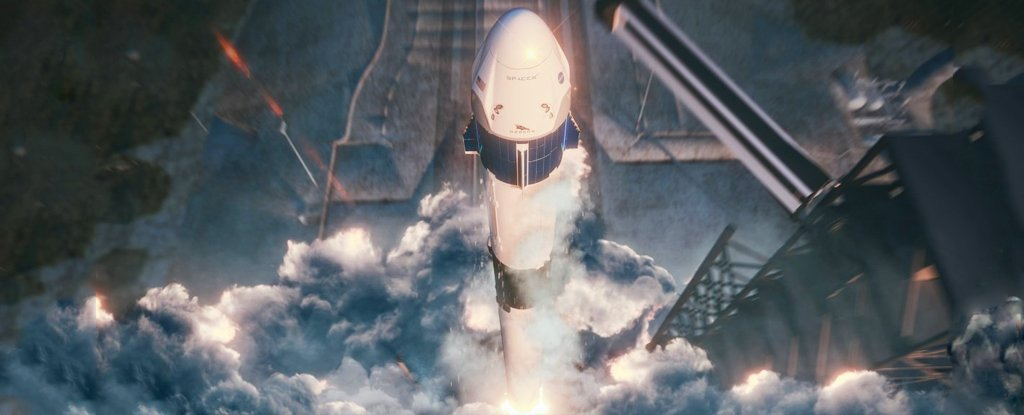 SpaceXCrewDragonFirstLaunch