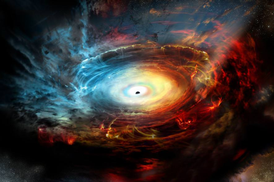 black hole event horizon .adapt ..