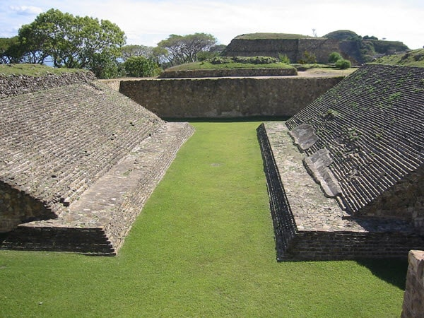 Ball Courts mayan inventions