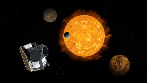 Cheops ESA s first exoplanet mission large