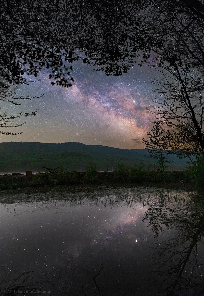 کهکشان راه شیری در بهار شمالی