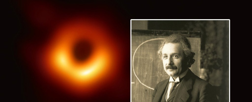 black hole einstein theory confirmed