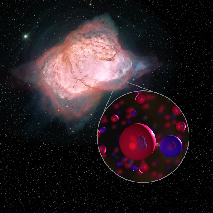 کهنترین مولکول کیهان در فضا کشف شد!