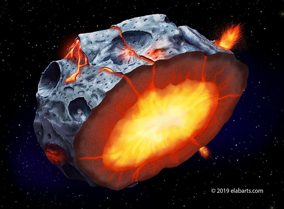image e Metallic Asteroid
