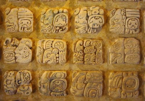 mayan wiriting system