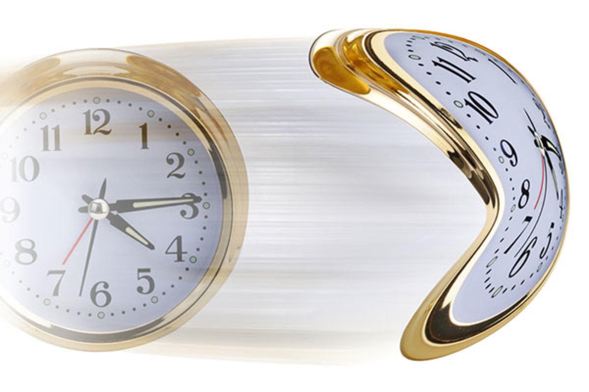 accelerating clock